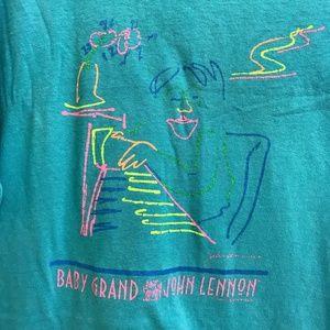 Vintage John Lennon Baby Grand T Shirt Rare